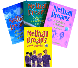 Netball Dreamz Series – Books 1,2,3 & 4 together in a package.